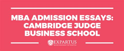Mba Fail by Mba Admission Essays Cambridge Judge Mba Conuslting