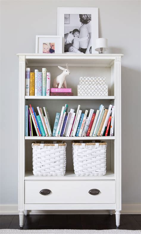bedroom bookshelf in the big kids room with camille styles project junior