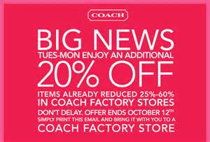 coach store coupons 2016 2017 best cars review