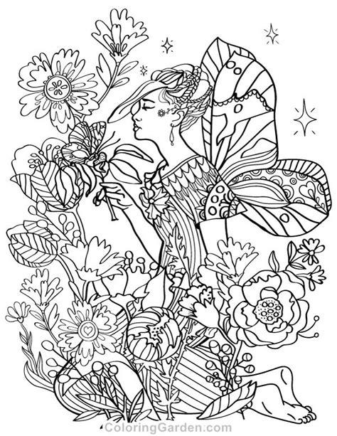 libro fairies coloring book an mejores 1286 im 225 genes de dise 241 os hadas y elfos en hadas libros para colorear y