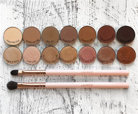 Colourpop Pressed Shadow review colourpop pressed eyeshadows my beautiful flaws