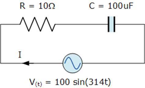 capacitor reactance ac ac capacitance and capacitive reactance in ac circuit