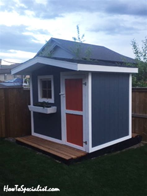 diy project  garden shed howtospecialist