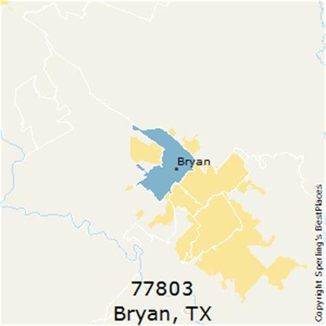 bryan texas zip code map best places to live in bryan zip 77803 texas