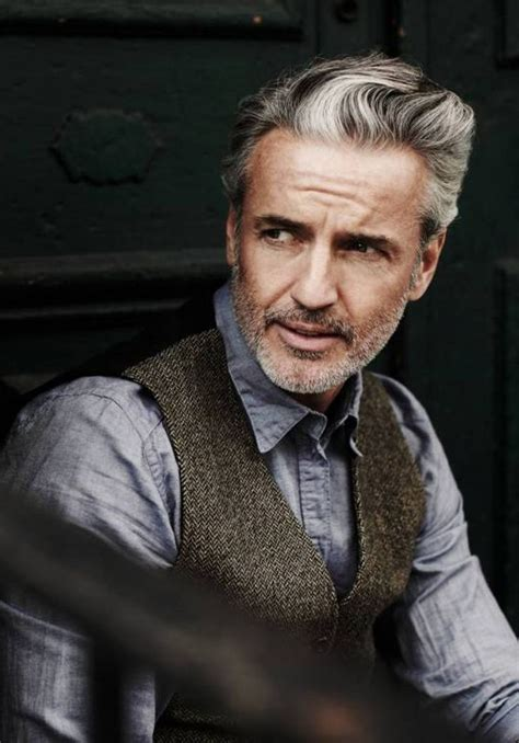 how to trim beards for men over 50 ehow classy mature mens hairstyles jpg 1106 215 1583 silver fox
