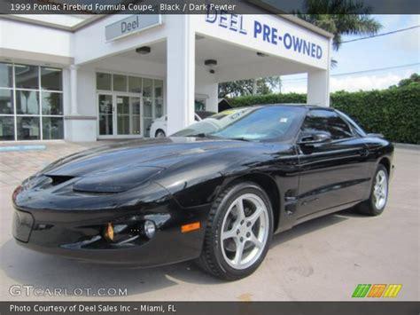 1999 pontiac firebird formula black 1999 pontiac firebird formula coupe pewter