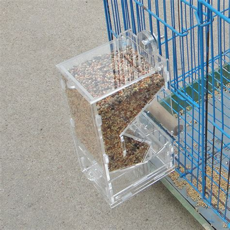 Food Feeder 120ml Pigeon bird automatic feeder food container chicken parrot integrated automatic feeder sparrow small