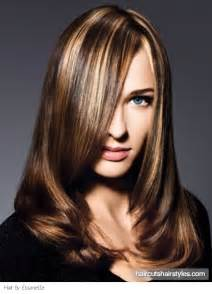 Long hairstyles blonde highlights