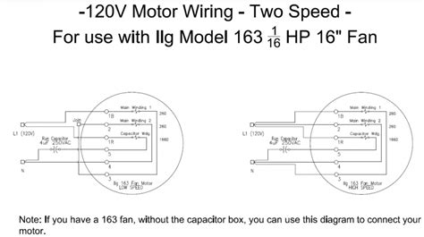 exhaust fan wiring diagram with capacitor sh capacitor