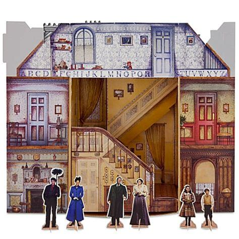 paper doll house mary poppins the broadway musical paper doll house paper doll love pinterest