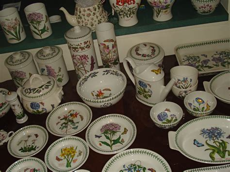 Botanic Garden Pottery with 1972 Portmeirion Botanic Garden China Collection For Sale Antiques Classifieds