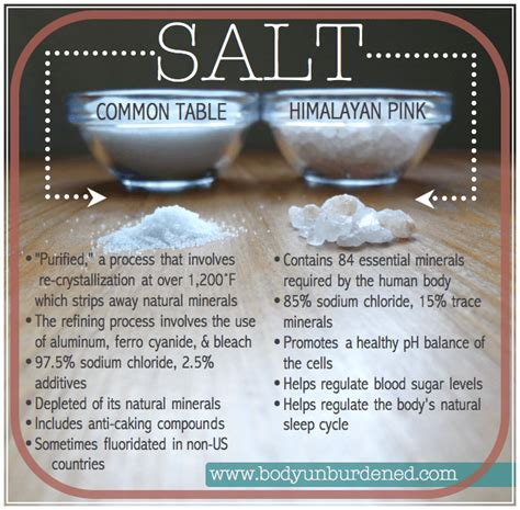 himalayan salt straying from science for supper the berkeley science review