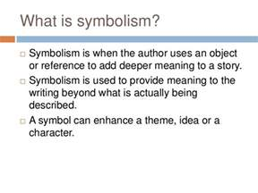 Symbolism In Poetry Essay by Symbolism In Literature