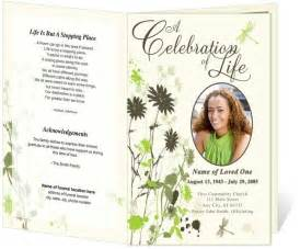 memorial bulletin template best 25 memorial service program ideas on