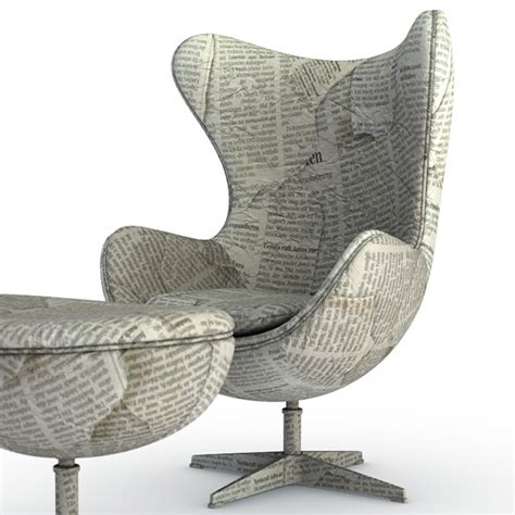 Newspaper Chair by Work Baloom Animation Studios