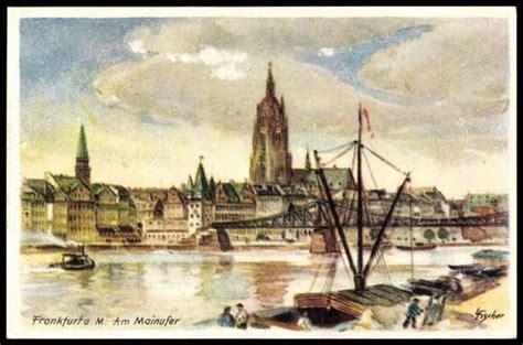 künstler frankfurt k 252 nstler ansichtskarte postkarte frankfurt am