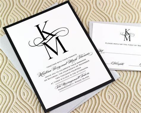 what monogram do you put on wedding invitations 21 best images about monogram wedding invitations on