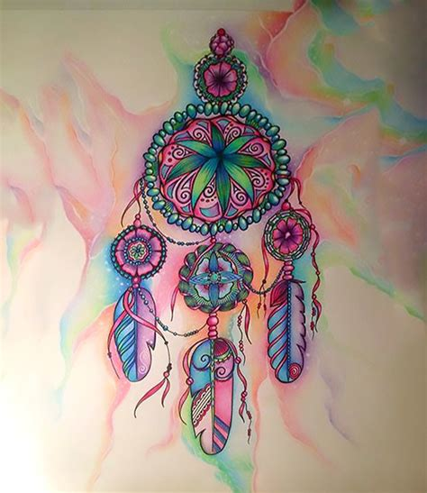 best ever dream catcher tattoo best dreamcatcher tattoo for girls