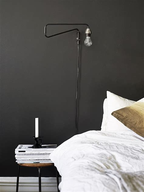 black bedroom walls scandinavian retreat black walls for sale