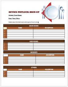 13 stylish office potluck signup sheets for your next