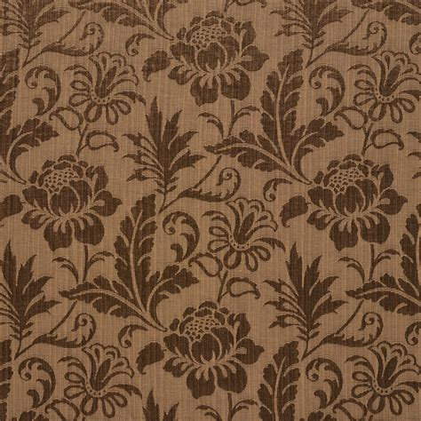 tone on tone upholstery fabric brown tone on tone floral and leaf damask upholstery fabric