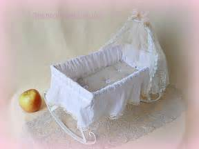 Canopy Beds For Baby Dolls Antique 1920s Doll Crib Large Doll Bed Made Of White
