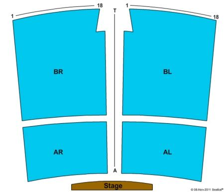 golden nugget seating chart the showroom at the golden nugget tickets and the showroom