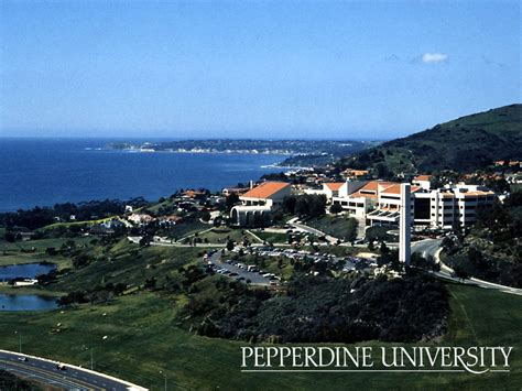 Pepperdine Mba Locations by Malibu California Pepperdine Here And There
