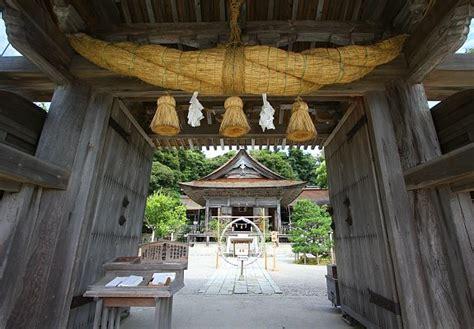 Keta Sheds by Noto Peninsula Keta Taisha Shrine