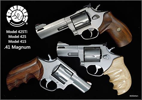 Reliable Baby Shooter taurus revolvers w custom grips six shooters and then