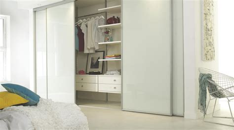 b q bedrooms linear white gloss sliding wardrobe doors contemporary bedroom