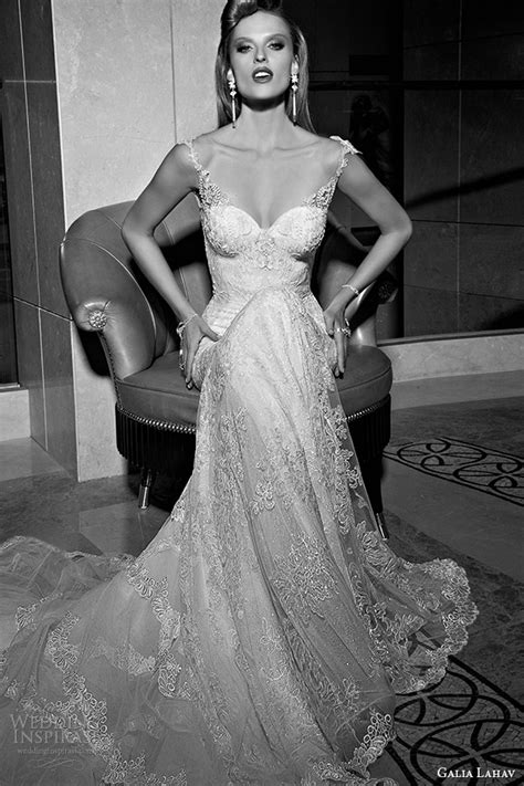 Wst 10875 Side Lace Panels Gown galia lahav fall 2015 wedding dresses tales of the jazz