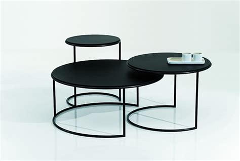 Table Basse Noir 916 by Naos Tables Basses Design Terre Design