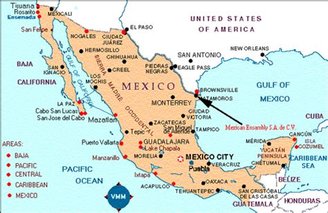 texas and new mexico map with cities brownsville texas map