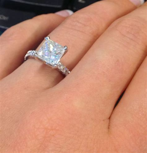 best 25 princess cut ideas on princess cut