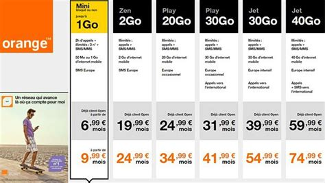 orange mobile orange booste ses forfaits mobiles play et jet avec 20