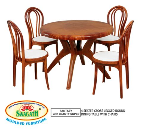 Plastic Dining Tables Round Dining Table Exporter From Plastic Dining Table And Chairs Price