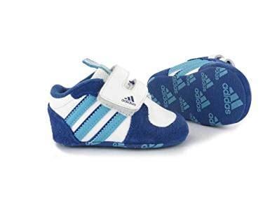 adidas baby boy streetrun iii crib shoes size 1 co uk shoes bags