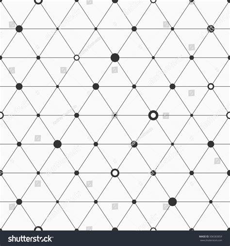 geometric background circles seamless pattern vector stock vector seamless pattern geometric background triangles