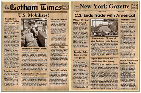 Old Newspaper Template Word Free Best Template Idea Newspaper Template Cyberuse