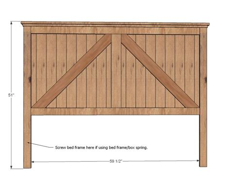 headboard wood woodworking projects plans