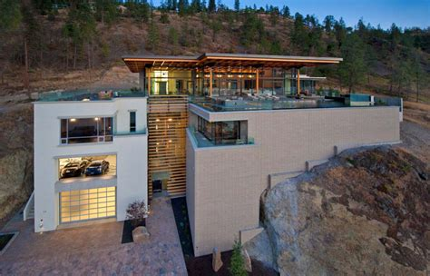 modern home design kelowna kelowna contemporary house on okanagan lake idesignarch