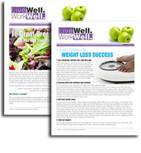 health and wellness newsletter template sle joint venture agreement template like success