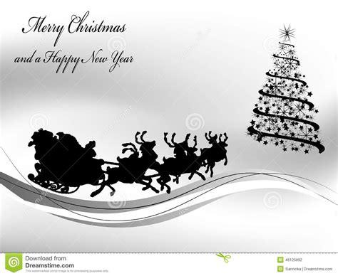 imagenes de navidad en negro y blanco fondo blanco y negro de la navidad ilustraci 243 n del vector