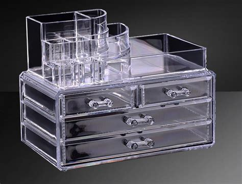 Custom Acrylic Make Up Box transparent acrylic makeup storage boxes clear makeup storage box wholesale buy makeup storage