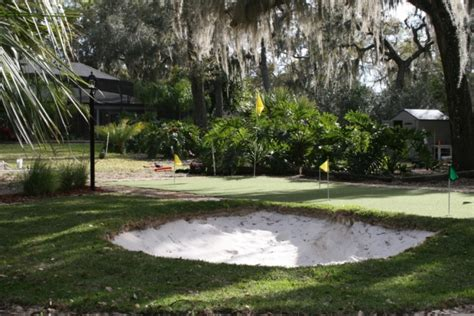 florida backyard putting green do it yourself diy project