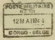 Lettre De Démission Cachet De La Poste Faisant Foi Bureaux De Poste Militaire Durant La Seconde Guerre Mondiale