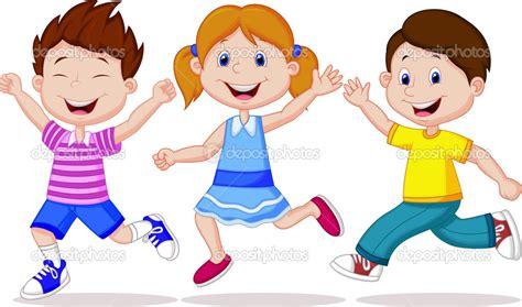 imagenes de unos niños ni 241 os corriendo dibujo animado buscar con google