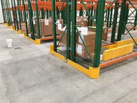 end of aisle pallet rack guards protectors handle it inc