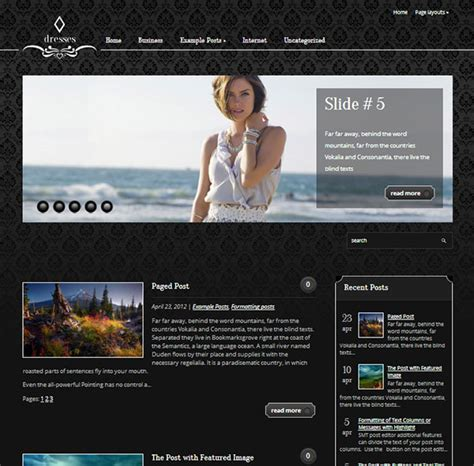 30 exemplary free responsive wordpress themes for january